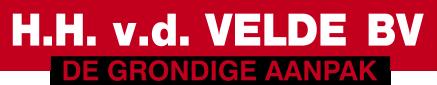 HH van der Velde Logo